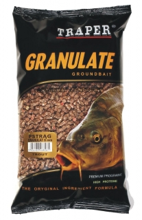 Granule Halibut - prům. 3mm - 1kg
