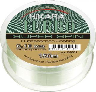 Vlasec Turbo , 0,18 mm x 150 m x3,65 kg / 8,11 lbs
