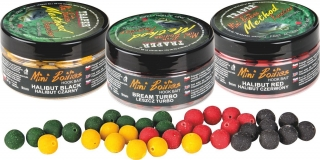 Mini Boilies Method Feeder - jahoda  ,  9 mm / 50 g