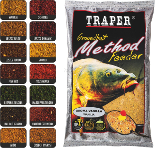 Krmná směs METHOD FEEDER med  750 g