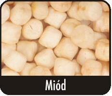Kukuřice foukaná Med - prům. 8mm - 20 g